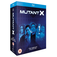 Mutant X - The Complete Collection (UK-import) (BLU-RAY)