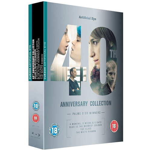 Artificial Eye 40th Anniversary Collection - Palme d'Or Winners (UK-import) (BLU-RAY)