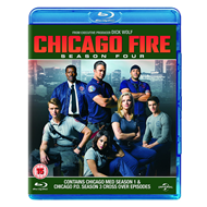 Chicago Fire - Sesong 4 (UK-import) (BLU-RAY)