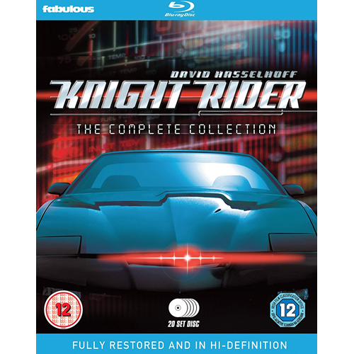 Knight Rider - The Complete Series (UK-import) (BLU-RAY)