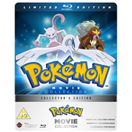 Pokemon - Movie Collection - Limited Steelbook Edition (UK-import) (BLU-RAY)