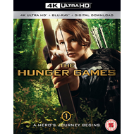 The Hunger Games (UK-import) (4K Ultra HD + Blu-ray)