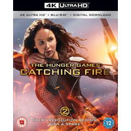 The Hunger Games: Catching Fire (UK-import) (4K Ultra HD + Blu-ray)