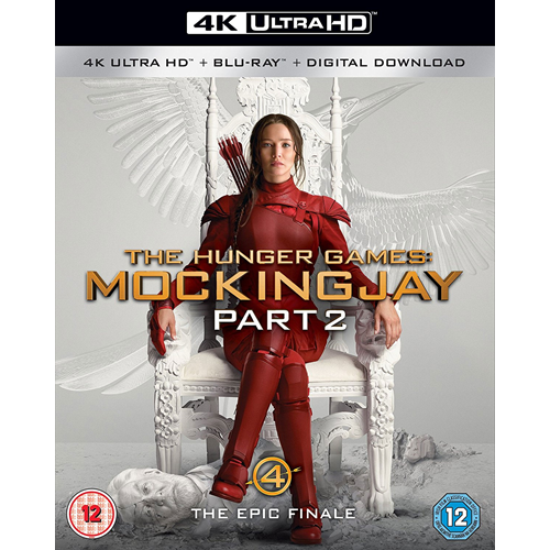 The Hunger Games: Mockingjay - Part 2 (UK-import) (4K Ultra HD + Blu-ray)