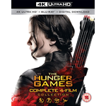 The Hunger Games - Complete 4-Film Collection (UK-import) (4K Ultra HD + Blu-ray)