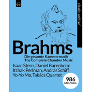 Produktbilde for Classic Archive Brahms - The Complete Chamber Music (BLU-RAY)