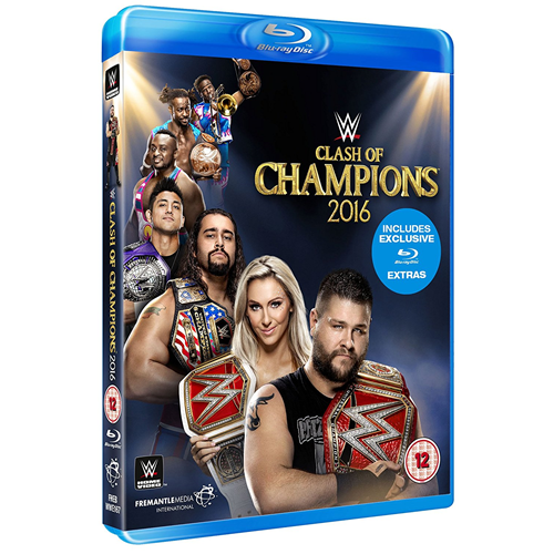 WWE: Clash Of Champions 2016 (UK-import) (BLU-RAY)
