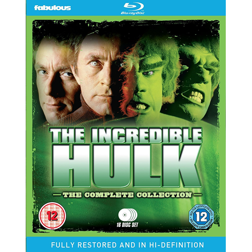 The Incredible Hulk - The Complete Collection (UK-import) (BLU-RAY)