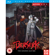 Berserk - The Golden Age Arc Movie Collection (UK-import) (BLU-RAY)