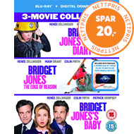 Bridget Jones 1-3 (UK-import) (BLU-RAY)