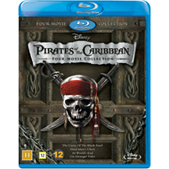Pirates Of The Caribbean - Four Movie Collection  (BLU-RAY)