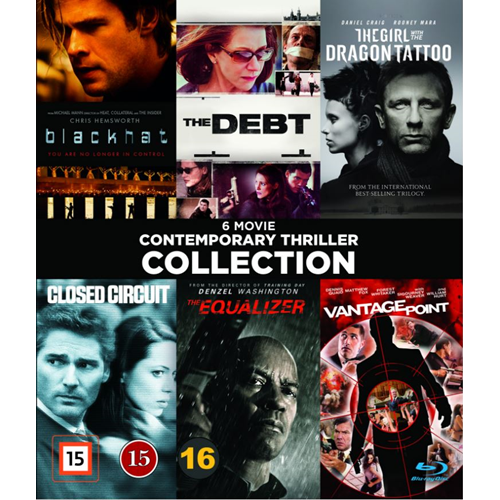 Contemporary Thrillers - Vol. 1 (BLU-RAY)