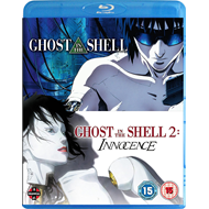Ghost In The Shell/Ghost In The Shell 2 - Innocence (UK-import) (BLU-RAY)