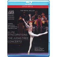Produktbilde for Three Ballets By Kenneth Macmillan: Elite Syncopations / The Judas Tree / Concerto (UK-import) (BLU-RAY)