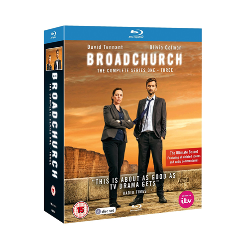 Broadchurch - Sesong 1-3 (UK-import) (BLU-RAY)