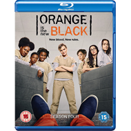 Orange Is The New Black - Sesong 4 (UK-import) (BLU-RAY)