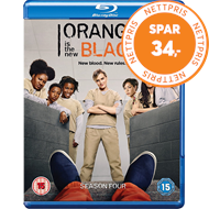 Produktbilde for Orange Is The New Black - Sesong 4 (UK-import) (BLU-RAY)