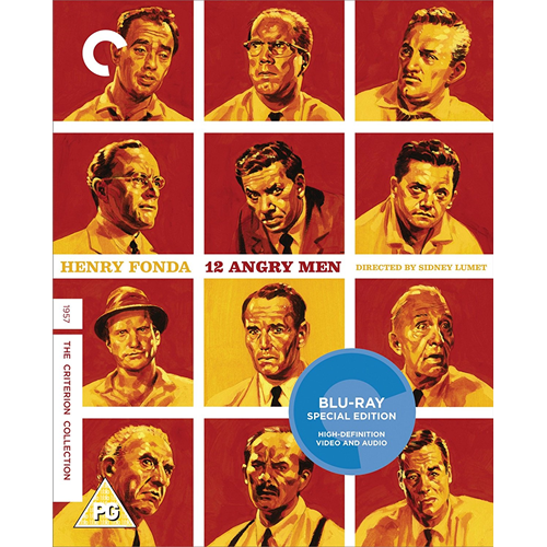 12 Angry Men - The Criterion Collection (UK-import) (BLU-RAY)