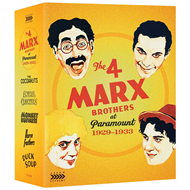 The 4 Marx Brothers At Paramount: 1929-1933 (UK-import) (BLU-RAY)