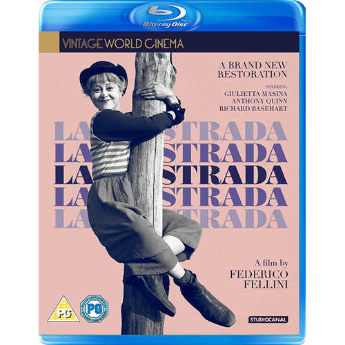 La Strada (UK-import) (BLU-RAY)