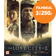 Produktbilde for Lost City Of Z (BLU-RAY)
