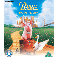Heldiggrisen Babe: Pig In The City (BLU-RAY)