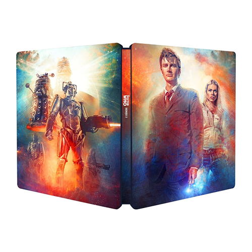 Doctor Who - Sesong 2: Steelbook Edition (BLU-RAY)