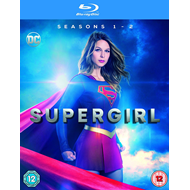Supergirl - Sesong 1-2 (UK-import) (BLU-RAY)