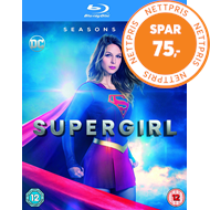 Produktbilde for Supergirl - Sesong 1-2 (UK-import) (BLU-RAY)