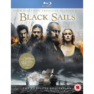 Black Sails - Sesong 1-4 (UK-import) (BLU-RAY)
