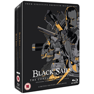 Black Sails - Sesong 1-4 - Limited Steelbook Edition (UK-import) (BLU-RAY)