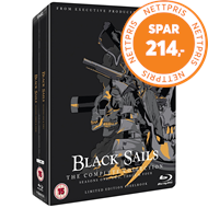 Produktbilde for Black Sails - Sesong 1-4 - Limited Steelbook Edition (UK-import) (BLU-RAY)