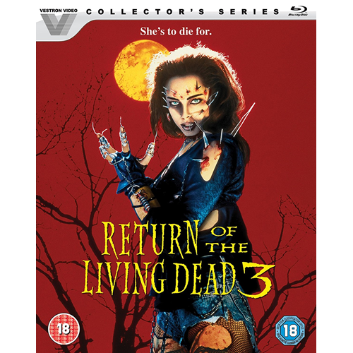 Return Of The Living Dead III (UK-import) (BLU-RAY)
