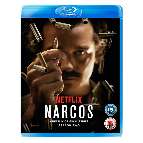 Narcos - Sesong 2 (UK-import) (BLU-RAY)