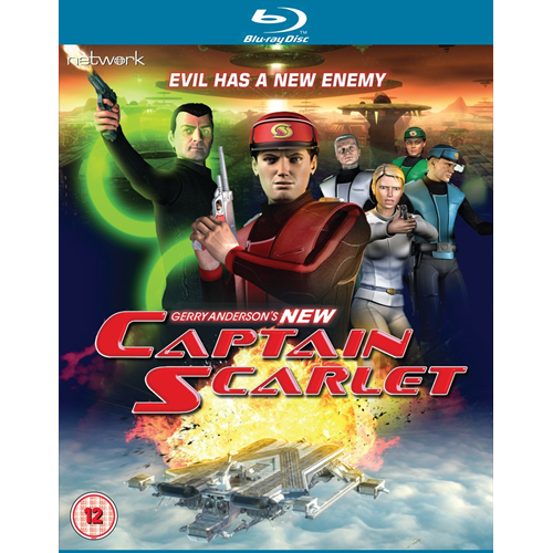New Captain Scarlet: The Complete Series (UK-import) (BLU-RAY)