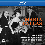 Maria Callas - In Concert: Paris 1958/Hamburg 1959 & 1962/London 1962 & 1964 (BLU-RAY)