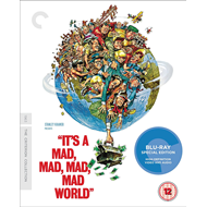 Produktbilde for It's A Mad, Mad, Mad, Mad World - The Criterion Collection (UK-import) (BLU-RAY)