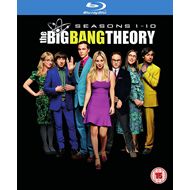 The Big Bang Theory: Seasons 1-10 (UK-import) (BLU-RAY)
