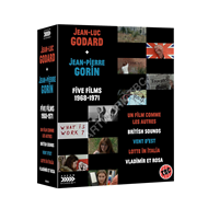 Produktbilde for Jean-Luc Godard & Jean-Pierre Gorin: Five Films 1968-1971 (UK-import) (BLU-RAY)