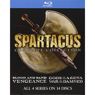 Spartacus Complete Box (Re-Pack) (BLU-RAY)