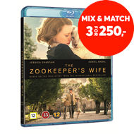 Produktbilde for The Zookeeper's Wife (BLU-RAY)