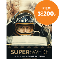 Produktbilde for Superswede: Om Ronnie Peterson (BLU-RAY)