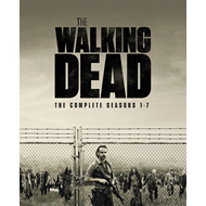The Walking Dead - Sesong 1-7 (UK-import) (BLU-RAY)