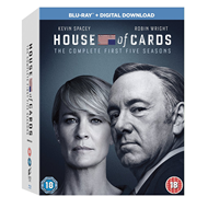 House Of Cards - Sesong 1 - 5 (UK-import) (BLU-RAY)