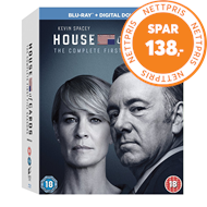 Produktbilde for House Of Cards - Sesong 1 - 5 (UK-import) (BLU-RAY)