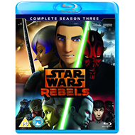 Star Wars Rebels - Sesong 3 (UK-import) (BLU-RAY)