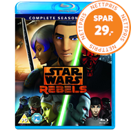 Produktbilde for Star Wars Rebels - Sesong 3 (UK-import) (BLU-RAY)