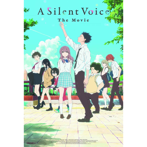 A Silent Voice (UK-import) (BLU-RAY)