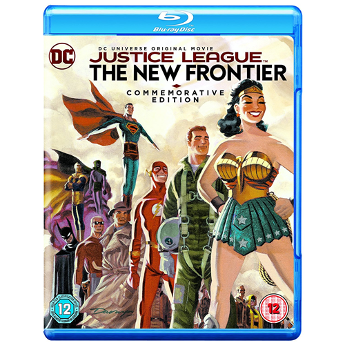 Justice League: The New Frontier (UK-import) (BLU-RAY)