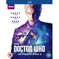 Doctor Who - Sesong 10 (Part 1 & 2) (UK-import) (BLU-RAY)